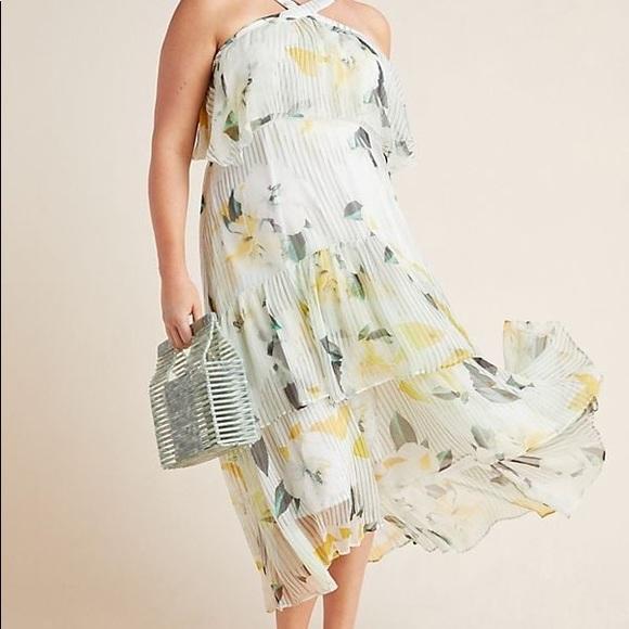Anthropologie Dresses & Skirts - Anthropologie Garden Party Dress 26W $240 NWOT